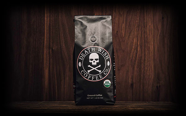 Death Wish gusseted coffee bag