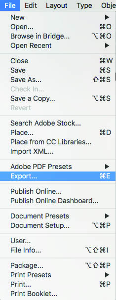 File Export Button
