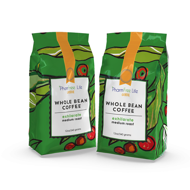 PharmFree Life Coffee Whole Bean