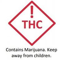 marijuana warning label